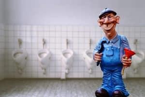 נזילה בשירותים